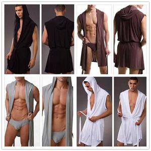 PYJAMA Hommes sexy lingerie sous-vêtements Sheer sommeil