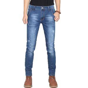JEANS Jeans Homme Stretch Slim VêTement Masculin