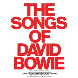 PARTITION The Songs Of David Bowie PVG Partitions