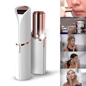 ÉPILATEUR ÉLECTRIQUE  Les femmes de rouge à lèvres Design indolore Hair