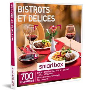 COFFRET GASTROMONIE Coffret Cadeau - Bistrots et délices - 400 restaur
