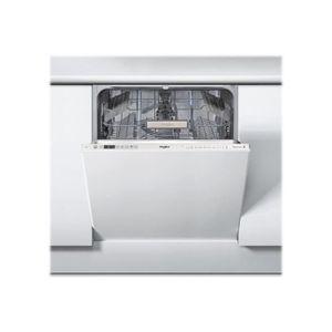 lave vaisselle encastrable whirlpool achat vente pas cher cdiscount. Black Bedroom Furniture Sets. Home Design Ideas