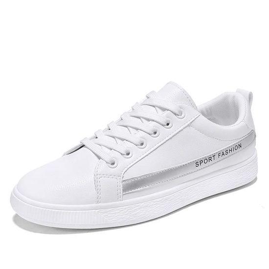 sports shoes 6da78 cfde0 Homme Style Casual Chaussures de sport Antidérapant Baskets Gris Gris -  Achat   Vente basket
