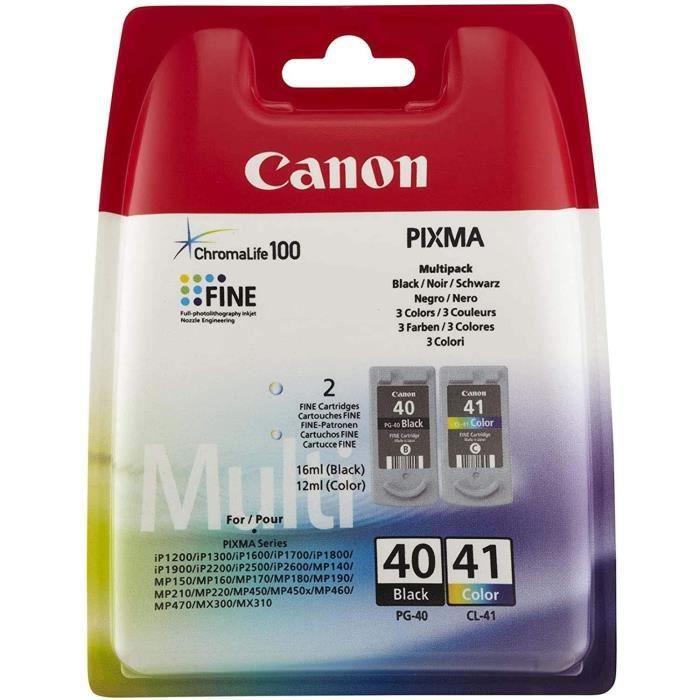 Canon PG-40/CL41 Cartouches d'encre Multipack Couleurs