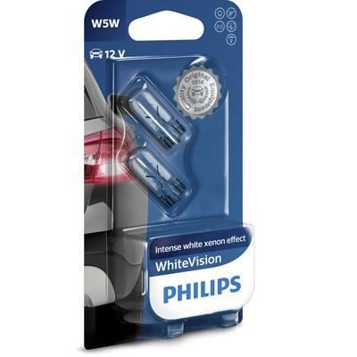 PHILIPS Ampoule WhiteVision 2 W5W 12V