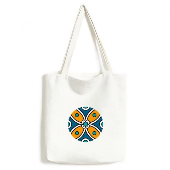c9577c131447 abstract fleur maroc style tendance sac en toile artisanat écologiquement  tote lavables sacs cadeau