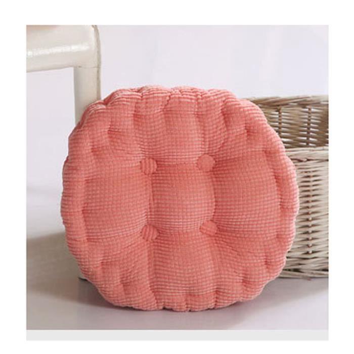 coussin galette de chaise ronde achat vente pas cher. Black Bedroom Furniture Sets. Home Design Ideas