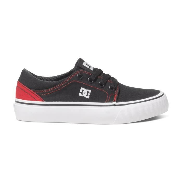 Chaussures Enfant DC TRASE TX black red