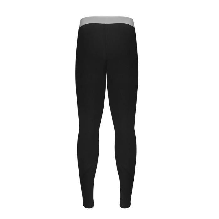 Collant sous-vêtement sport hommeBlack Noir Black - Achat   Vente ... 9c0fcb2b7c0