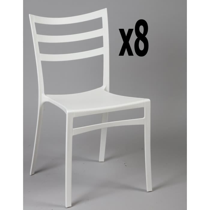 Chaise blanche pas chere simple gallery of chaise blanche - Chaise blanche pas chere ...