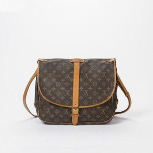 ... BESACE - SAC REPORTER Louis Vuitton - Besace - Monogram Canvas Brown -  2 ... 505cd339667