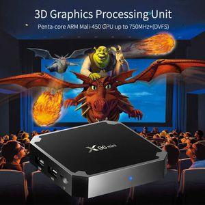 BOX MULTIMEDIA Smart TV BOX X96 mini 2 Android 7.1.2 WIFI 4K Noir
