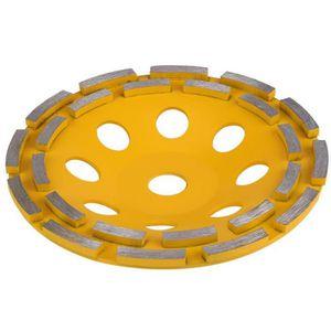 DISQUE ABRASIF 180mm Disque de meulage diamanté à double rangée c