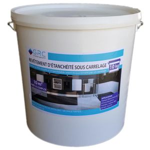 SOUS-COUCHE - ENDUIT GRC - Revêtement d'étanchéité sous carrelage - 10k