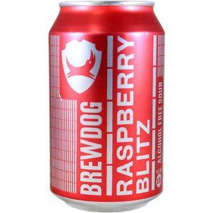BIÈRE Canette Brewdog Raspberry Blitz - sans alcool 33cl