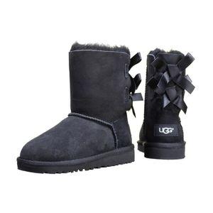 bottes style ugg noir