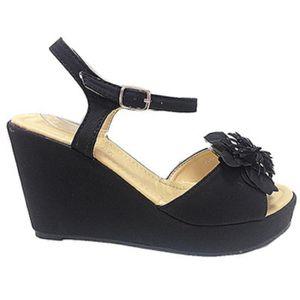 SANDALE - NU-PIEDS Fashionfolie888 - Femmes Sandales talon compensés