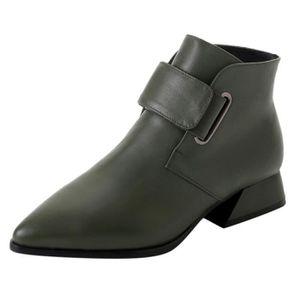 4f726f575b1 BOTTE Femmes Chaussures Pointu Mode Bottes talon haut sa ...
