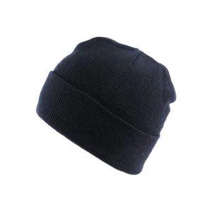fb46334dc998 Bonnet d hiver réversible - Shenky - tricot - motif imprimé Yeah Boy .