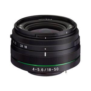 OBJECTIF PENTAX Objectif 18-50 mm f/4-5.6 DA-L DC WR RE NOI