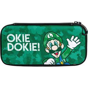 HOUSSE DE TRANSPORT Housse Slim Camo Luigi pour Nintendo Switch