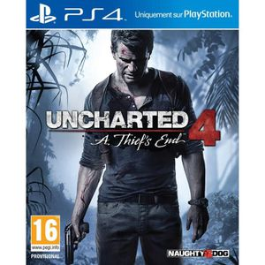 JEU PS4 Uncharted 4 - Day One Edition