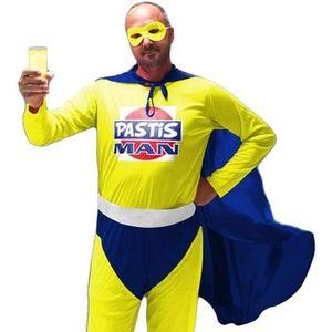 ACCESSOIRE DÉGUISEMENT Costume Pastis Man - Déguisement Adulte