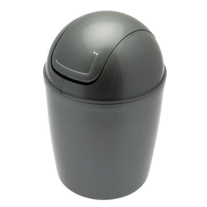 POUBELLE - CORBEILLE FRANDIS Mini Poubelle de salle de bain en plastiqu