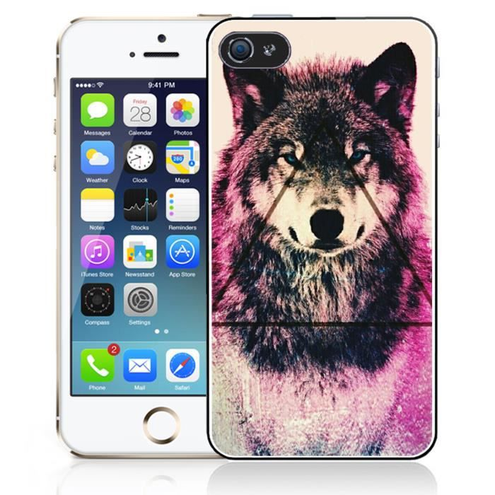 coque iphone xr loup