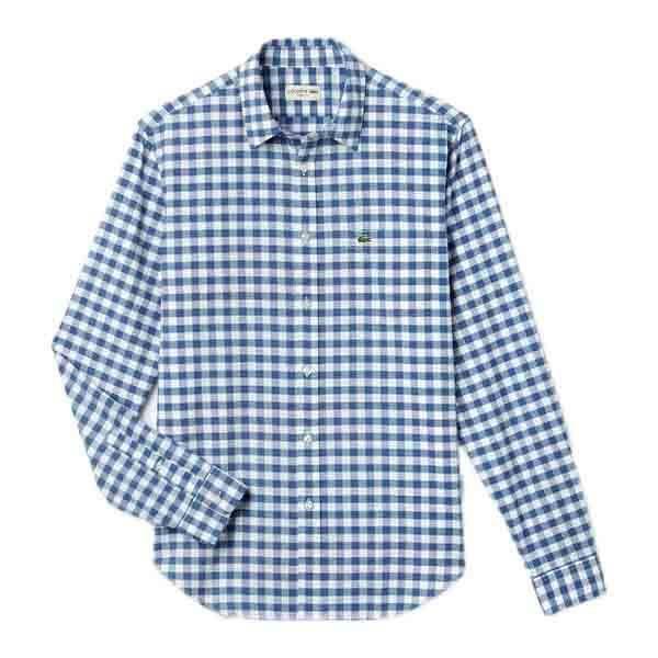 7b561d7f2f Chemises à manches longues Lacoste Ch64012ad Ls Wovens Shirt ...