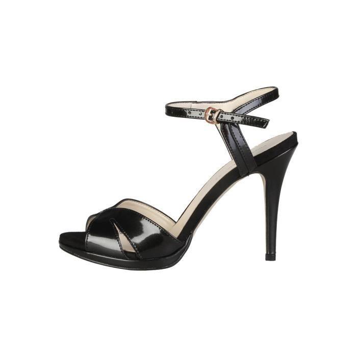 Made in Italia - Sandales pour femme (PERLA_NERO) - Noir