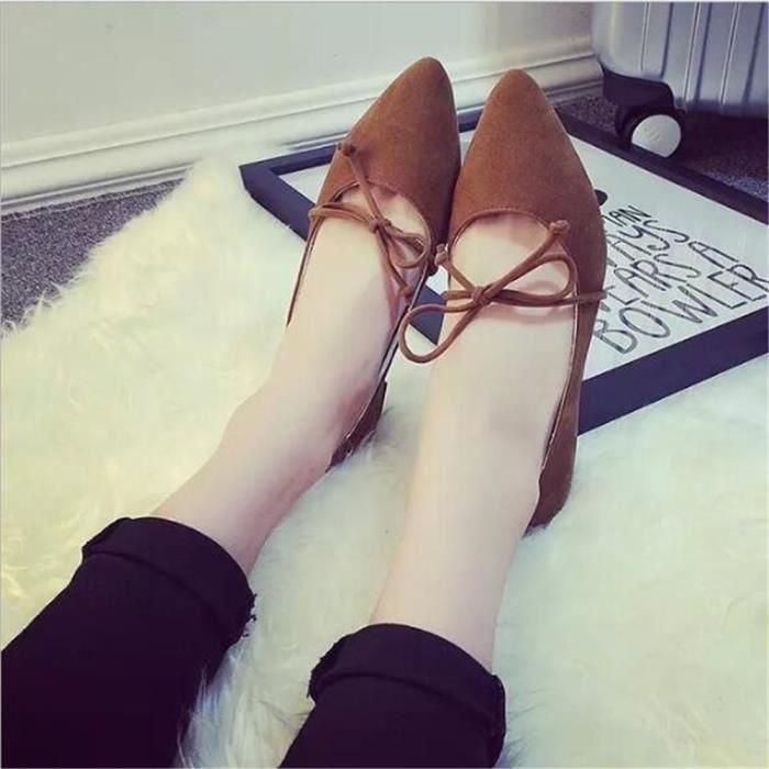 Qualité De Chaussure Extravagant Plus Meilleure Confortable Femme Escarpins Jaune Mode 35 Doux Hauts gris noir Classique Couleur Escarpin Talons 39 qAPtSp0x