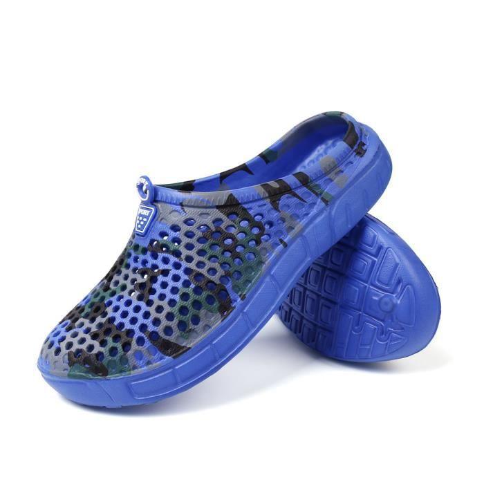Tongs Homme Chaussure De Plage Qualité SupéRieure Sandal Caoutchouc Hommes Sandale Talon Strass Chaussures Sandales Grande Slo7YuVb9H