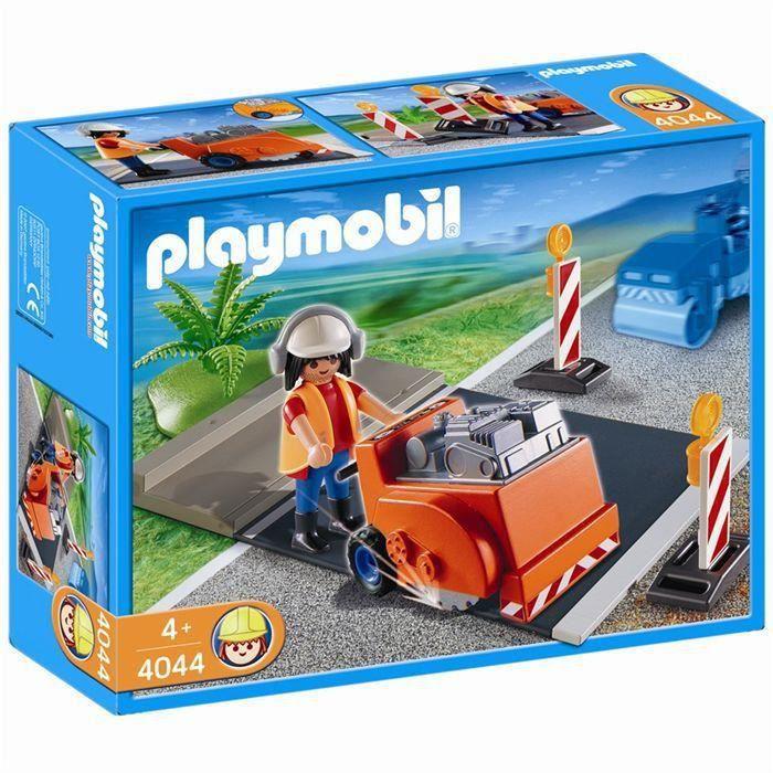 playmobil travaux publics achat vente jeux et jouets pas chers. Black Bedroom Furniture Sets. Home Design Ideas