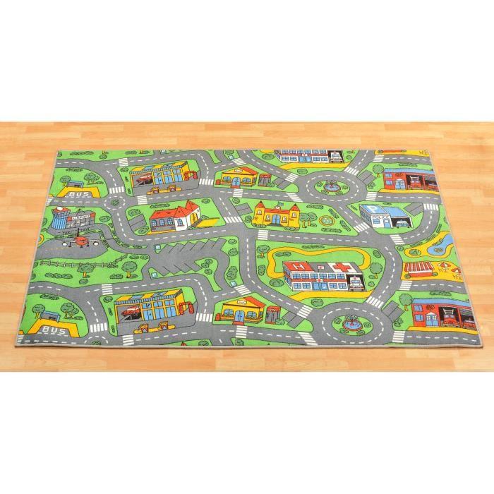 tapis de jeux trafic tapis circuit 2 00m achat vente tapis de jeu cdiscount. Black Bedroom Furniture Sets. Home Design Ideas