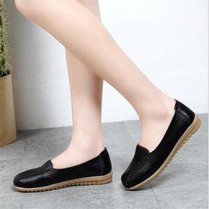 Chaussure Femmes Printemps Été Comfortable Faible Talon Chaussures LKG-XZ069Rouge34 ElLFozKB