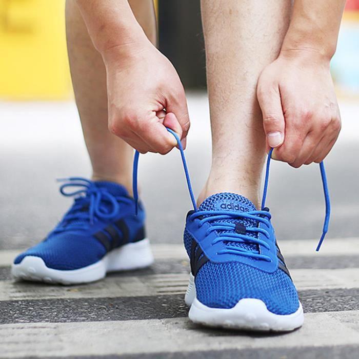 Baskets Adidas de Running, Lite Racer F99418 bleu bandes noires