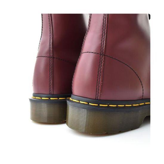 92dc31c4925 Boots Dr Martens 1490 - 10092600 Rouge Bordeaux - Achat   Vente bottine -  Cdiscount