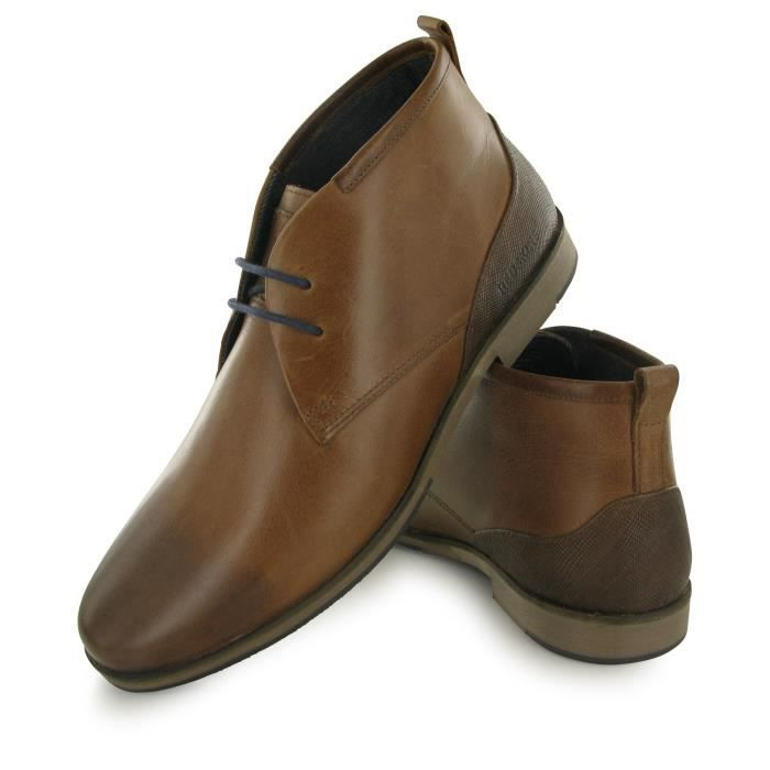Redskins Trinite marron, boots homme