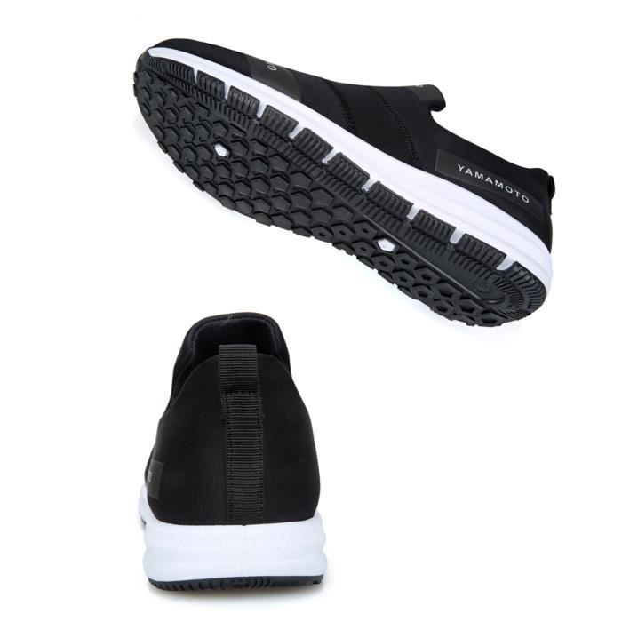 Respirante Chaussures Sports Noir Casual Homme Basket qfIdqSw