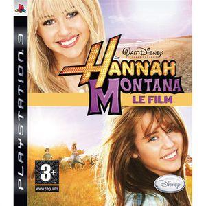 JEU PS3 HANNAH MONTANA LE FILM / JEU PS3 -