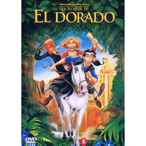 DVD DESSIN ANIMÉ LA ROUTE D'EL DORADO