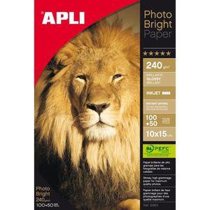 PAPIER PHOTO Boite 150 feuilles papier photo bright PEFC  100 x