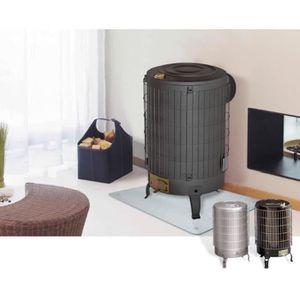 poele bois turbo achat vente poele bois turbo pas cher cdiscount. Black Bedroom Furniture Sets. Home Design Ideas