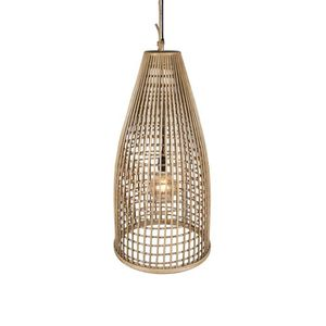 LUSTRE ET SUSPENSION Suspension en rotin naturel Brin d'Ombre