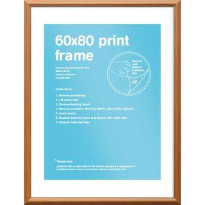 BAGUETTE D'ENCADREMENT Cadre pour affiches 60x80cm - Pin