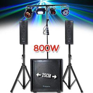 PACK SONO Pack sono 800W - 2 Enceintes 2x4