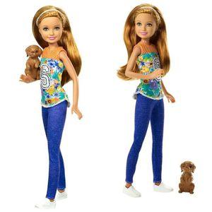POUPÉE Barbie - Family Poupée Stacie avec le Chien - Barb