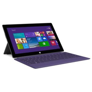 TABLETTE TACTILE MICROSOFT SURFACE 2 32GB + TYPE COVER 2 VIOLET