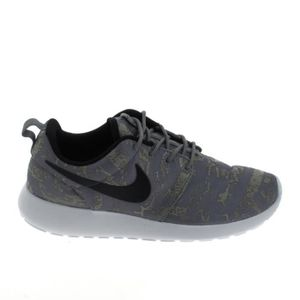 BASKET Basket -mode - Sneakers NIKE Roshe One Print Gris